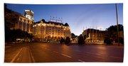 Plaza De Neptuno And Palace Hotel Hand Towel