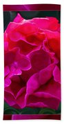 Plentiful Supplies Of Pink Peony Petals Abstract Bath Towel