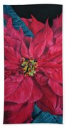 Poinsettia II Painting Hand Towel