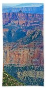 Point Imperial At 8803 Feet On North Rim Of Grand Canyon National Park-arizona   Bath Towel