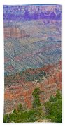 Point Imperial On North Rim Of Grand Canyon National Park-arizona   Bath Towel