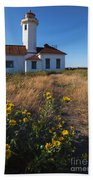 Point Wilson Lighthouse Bath Towel