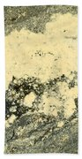 Pollen Of Black Spruce Trees On Water Surface Bath Towel