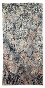 Pollock's Number 1 -- 1950 -- Lavender Mist Hand Towel