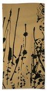 Pollock's Number 7 -- 1951 Bath Towel