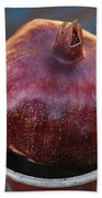 Pomegranate In A Vase Bath Towel