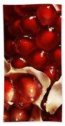 Pomegranate Seeds Bath Towel