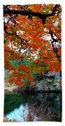 Fall At Lost Maples State Natural Area Bath Towel