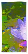 Pond Lily 29 Bath Towel