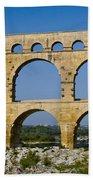 Pont Du Gard  Bath Towel