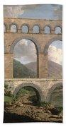 Pont Du Gard, Nimes Bath Towel