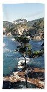Pont Lobos Cove Bath Towel