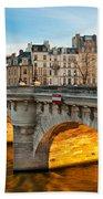 Pont Neu - Paris  Bath Towel