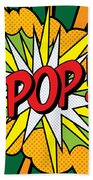 Pop Art 4 Hand Towel