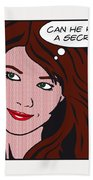 Pop Art Porn Stars - Mia Sollis Bath Towel