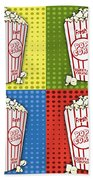 Popcorn Pop Art-jp2375 Bath Towel