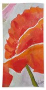 Poppies 1 Hand Towel