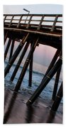 Port Hueneme Pier Askew Bath Towel