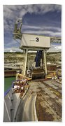 Port Of Dover  Bath Towel