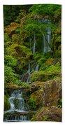 Portland Japanese Gardens Bath Towel