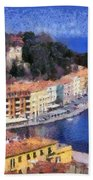 Porto Stefano In Italy Bath Towel