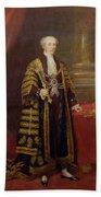Portrait Of Colonel Sir Samuel Wilson, Lord Mayor Of London, 1838 Oil On Canvas Bath Towel