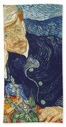 Portrait Of Dr Gachet Hand Towel
