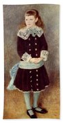 Portrait Of Martha Berard Hand Towel