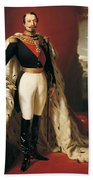 Portrait Of Napoleon IIi Louis Napoleon Bonaparte Bath Towel