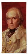 Portrait Of Stratford Canning 1786-1880, Viscount Stratford De Redcliffe 1856-7 Oil On Canvas Bath Towel