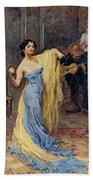 Portrait Of The Dancer Anna Pawlowa Bath Towel