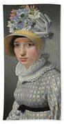 Portrait Of The Model Maddalena Or Anna Maria Uhden Bath Towel