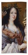 Portrait Of Vittoria Della Rovere As Saint Vittoria Bath Towel