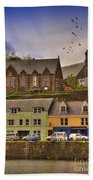 Portree. Isle Of Skye. Scotland Bath Towel