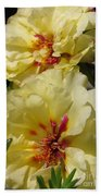 Portulaca Named Happy Hour Banana Bath Towel