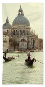 Postcard From Venice Bath Towel