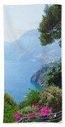 Positano Italy Amalfi Coast Delight Bath Towel