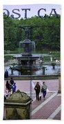 Postcard From Central Park Bath Towel