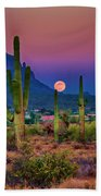 Postcard Perfect Arizona Bath Towel