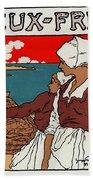 Poster Sardines, 1899 Bath Towel