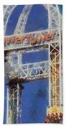 Power Tower Cedar Point Bath Towel