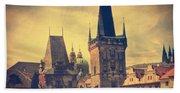 Praha Bath Towel