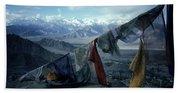 Prayer Flags Leh Ladakh Bath Towel