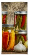 Preserved Peppers Bath Towel