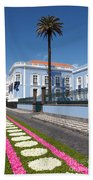 Presidential Palace - Azores Bath Towel