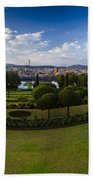 Pretoria Cityscape Southward Bath Towel