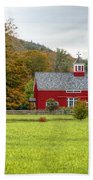 Prettiest Barn In Vermont Bath Towel