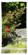 Pretty Gardens Bath Towel