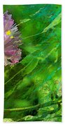Pretty Little Weeds Photoart Bath Towel