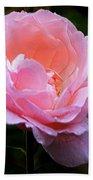 Pretty Pink Rose Bath Towel